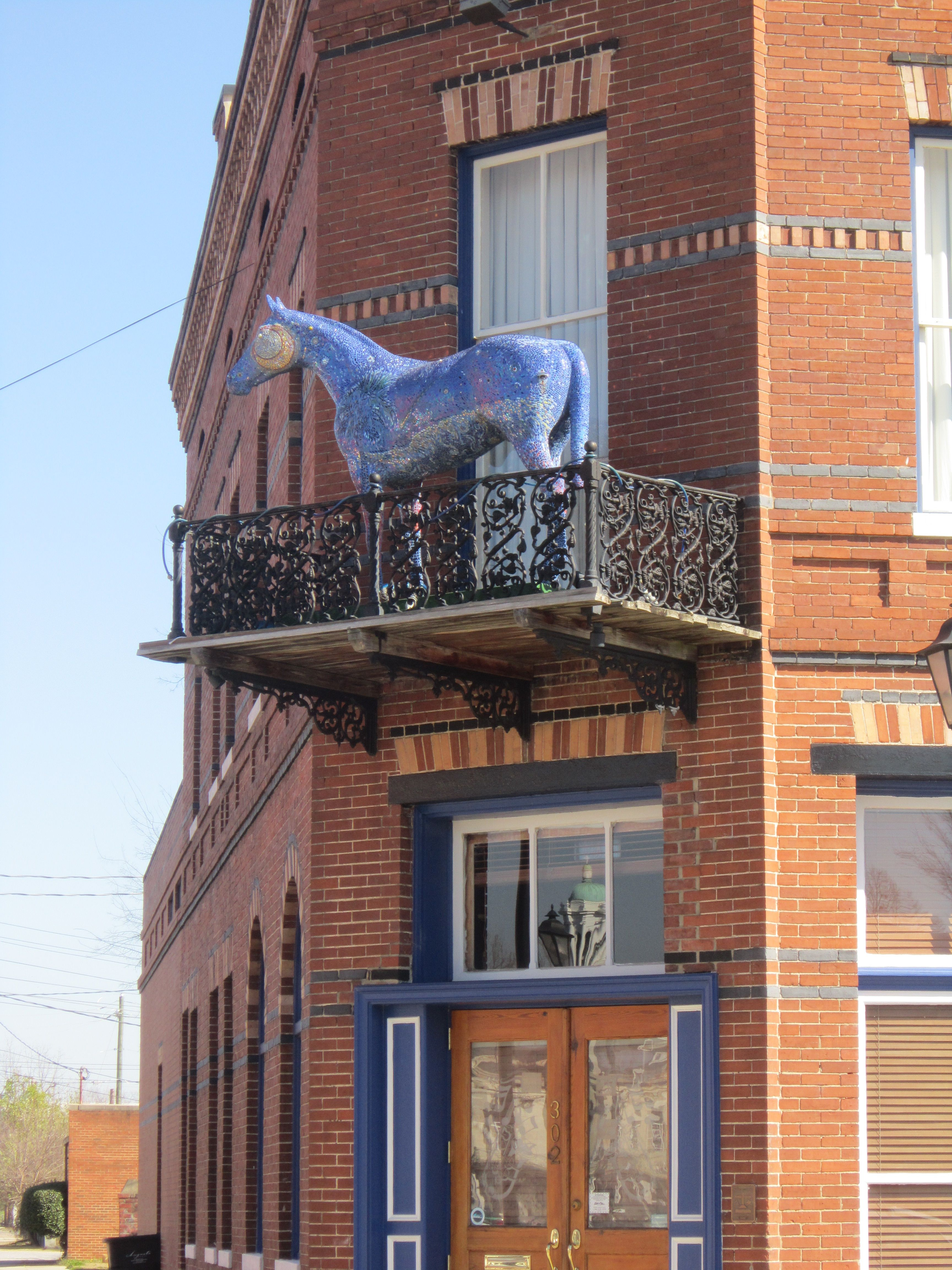 Southern siding augusta ga - Blue Horse Located At D Timm S At 302 Sixth Street Augusta Ga 30901 Created By