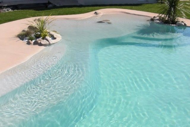 Piscinas de arena compactada piscinas albercas y piletas - Piscina de arena compactada ...