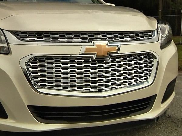 2014 2015 Chevy Malibu Grille Grill Chrome Snap On Cci Sleek