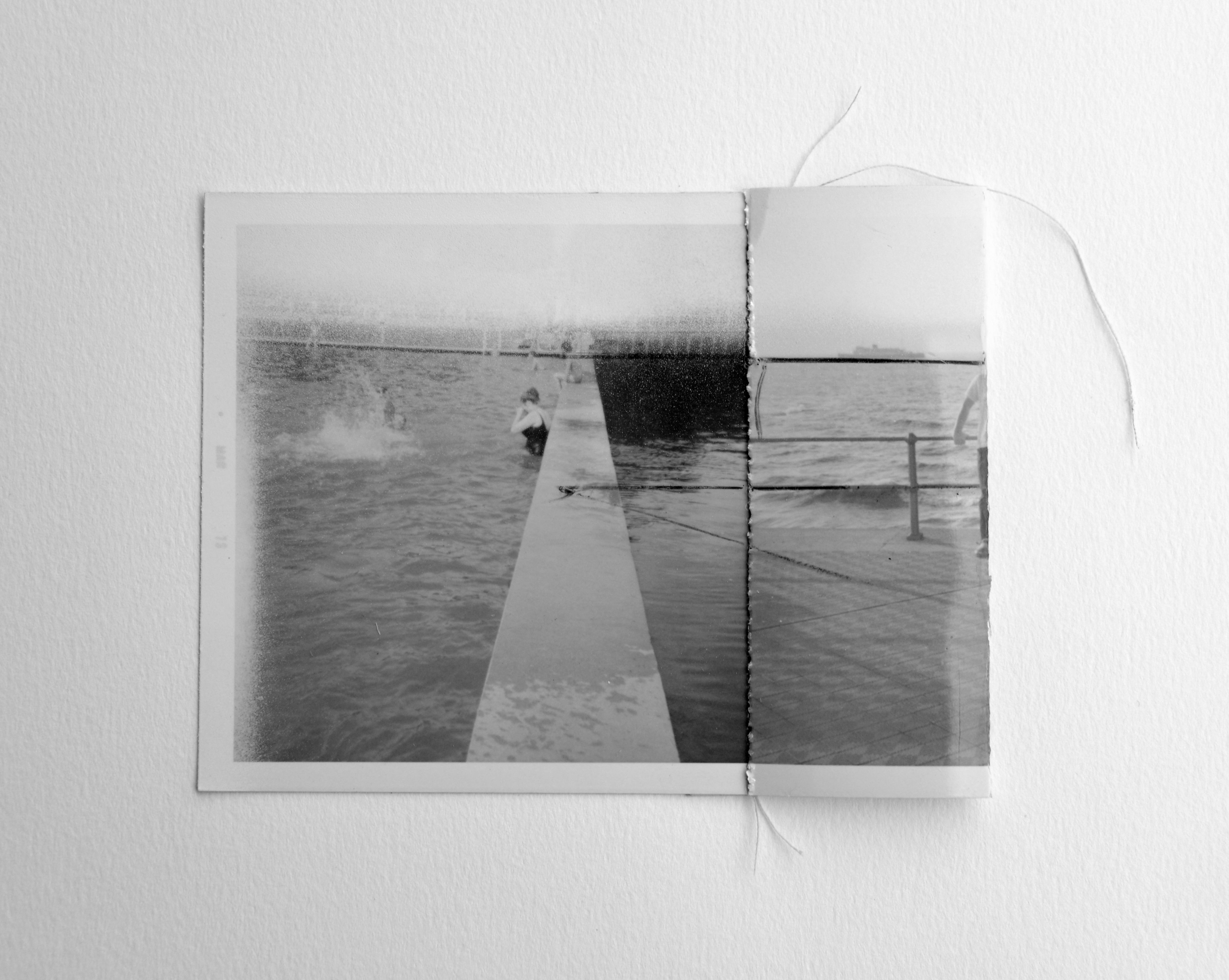 Interferences #11 2015, Adapted old photo. Frame 30x20 cm http://www ...