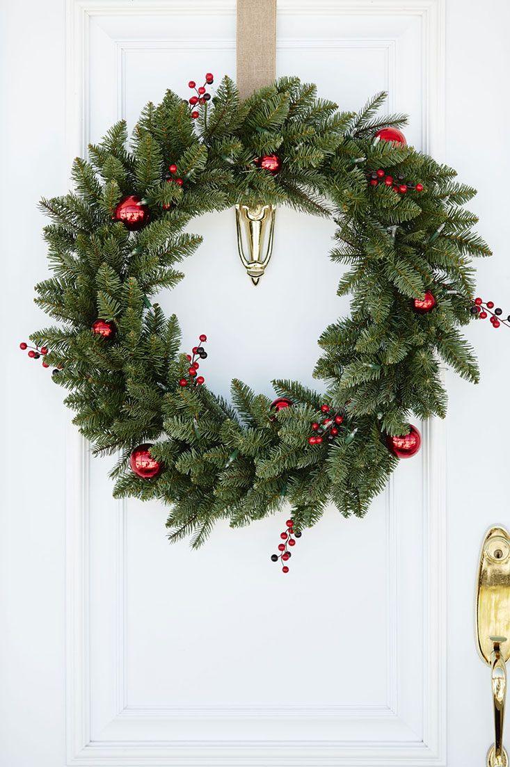 Outdoor Christmas wreath / Couronne de Noël extérieure ...