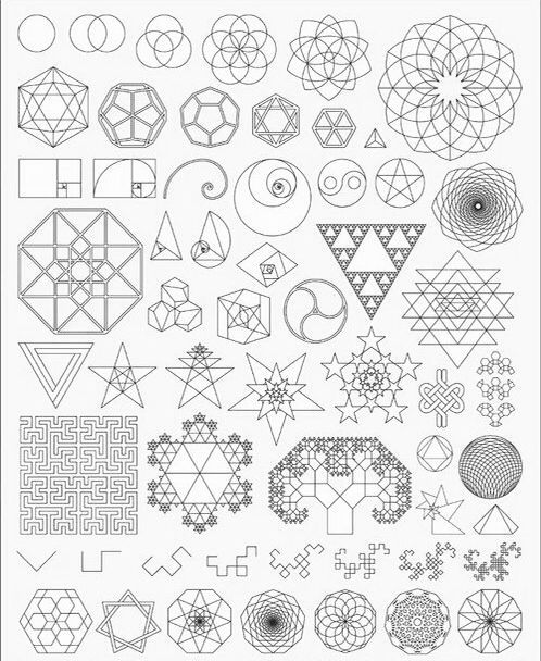Pin By Spock On Form Creation Complexity Geometry Art