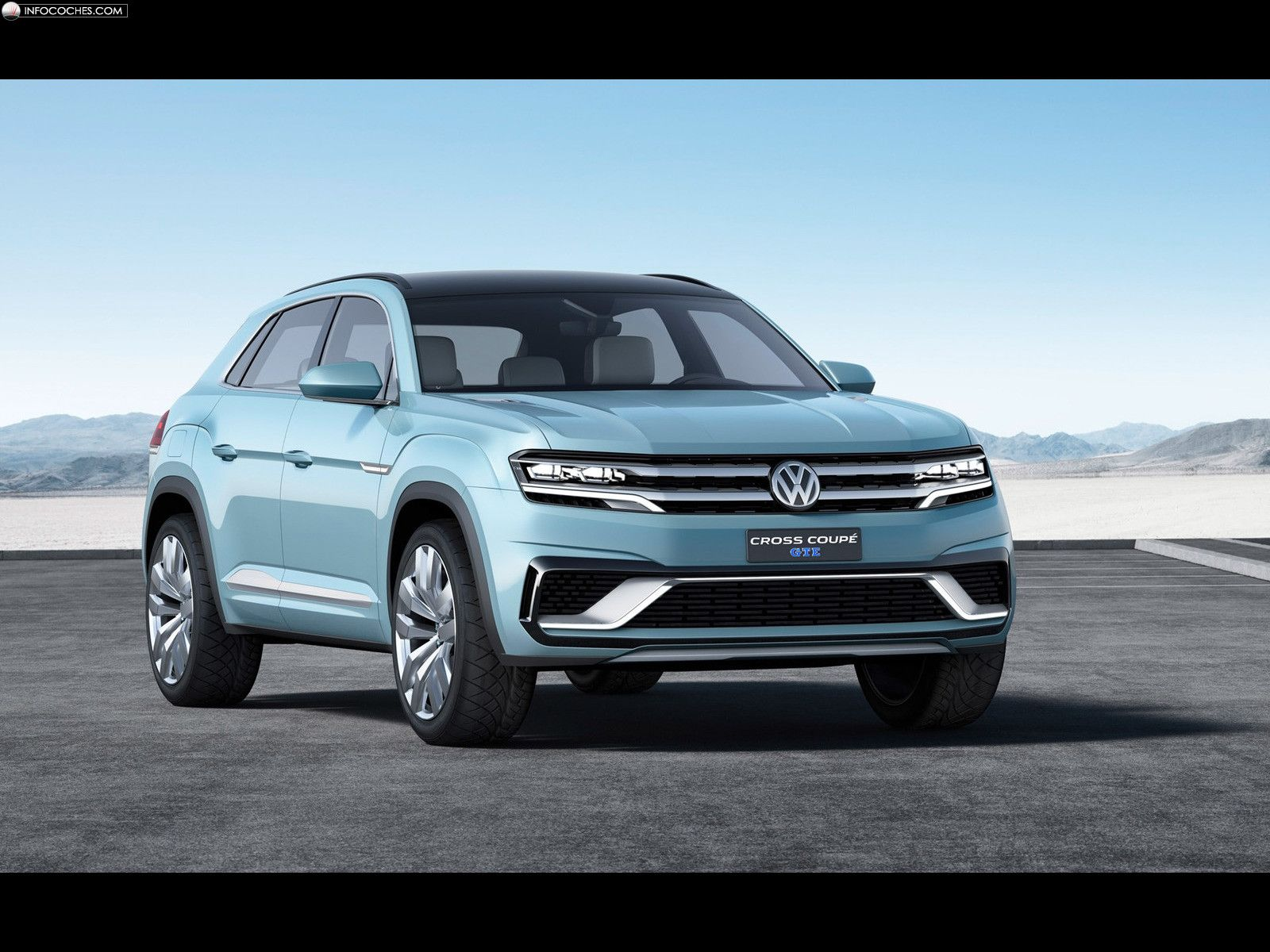 Fotos del Volkswagen Cross Coupe GTE Concept - 8 / 15