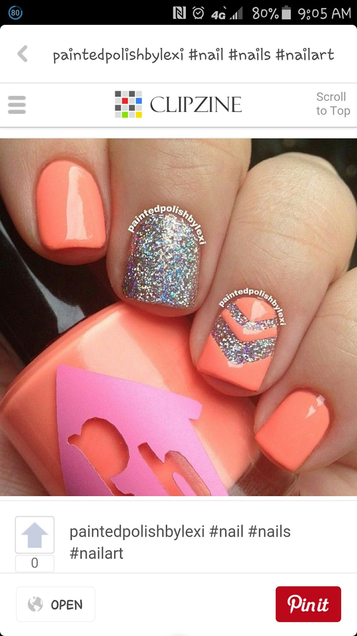 Pin von Rozlyn Leonard auf Nails I ❤❤ | Pinterest | Nagelschere