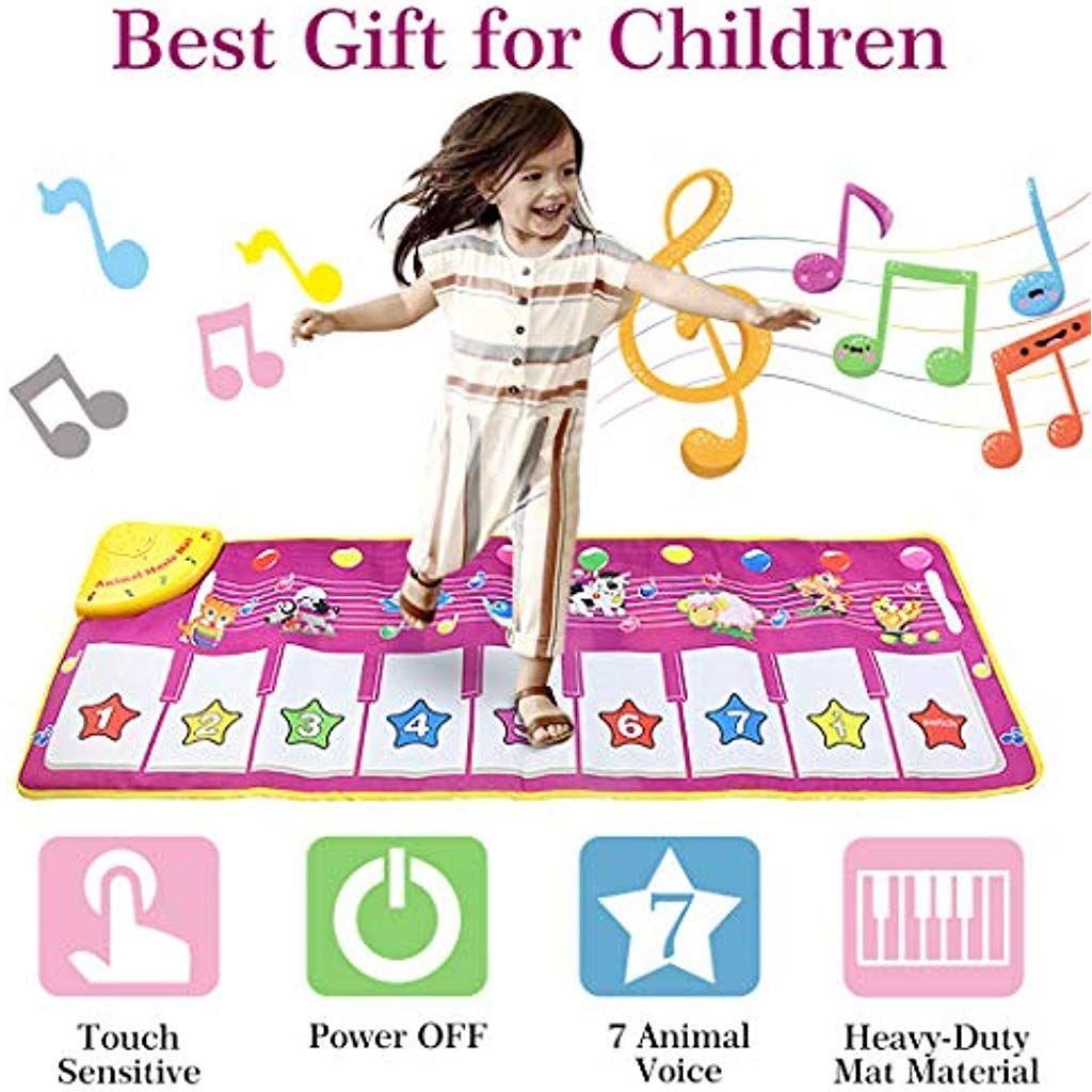 Aivatoba Musikmatte Spielzeug Maedchen 1 Jahr 2 34 Jahreklaviertastatur Tanzmatte Kinder Geschenke Fuer Ba Madchen Spielzeug Spielzeug Madchen Kinder Spielzeug