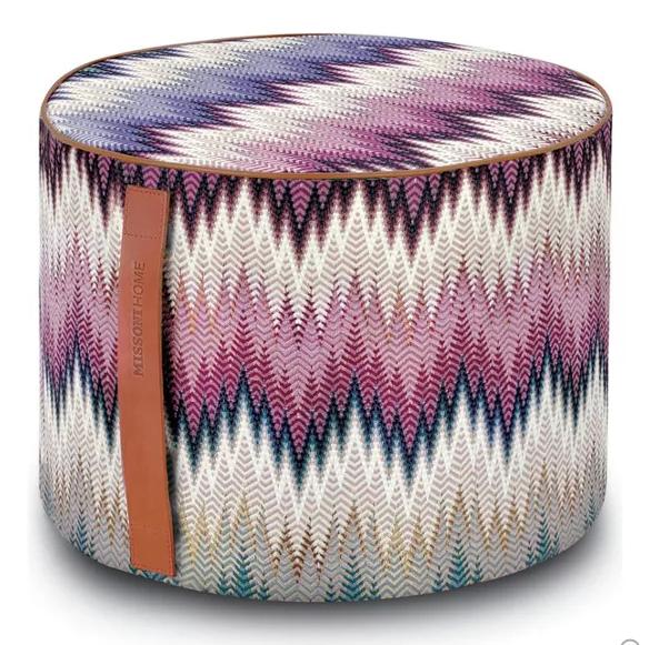 2 Poufs Pouf Ottoman Floor Pillows Poufs Cool Color Palette