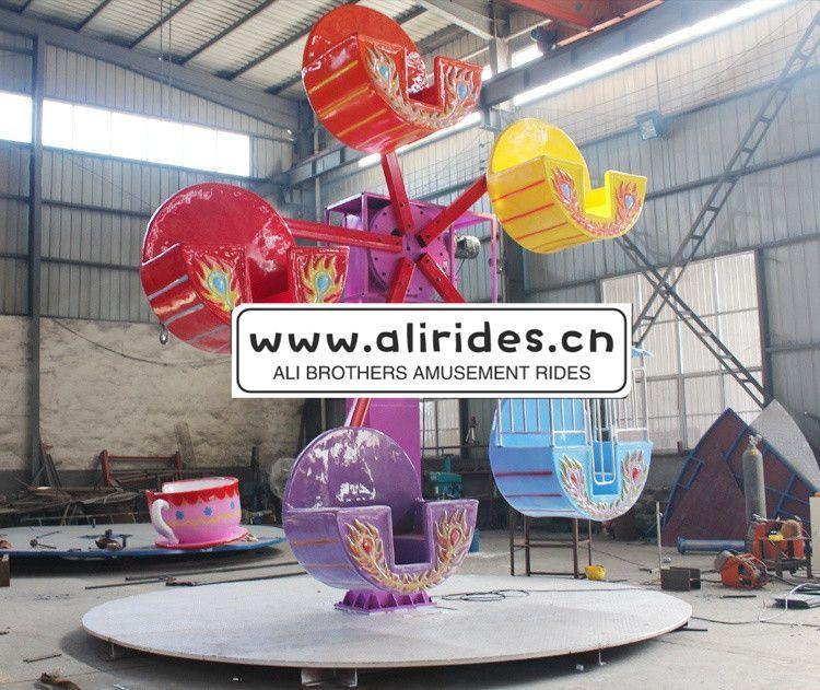 China Supplier Kiddie Rides Amusement Equipment Portable