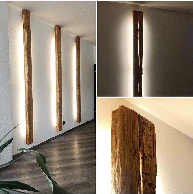 Lampe I Von Woodesign Lassen Sie Gemutlichkeit Einziehen Die Wandleuc In 2020 Lamp Wall Lights Indirect Lighting