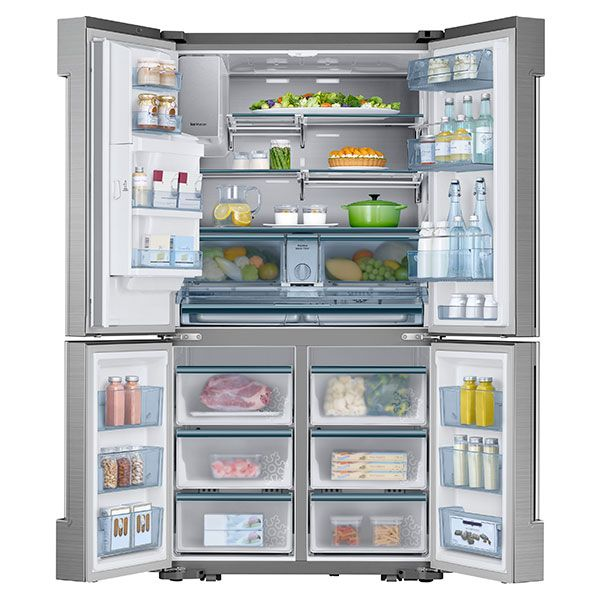 Counter Depth 24 Cu Ft 4 Door Flex Refrigerator Samsung