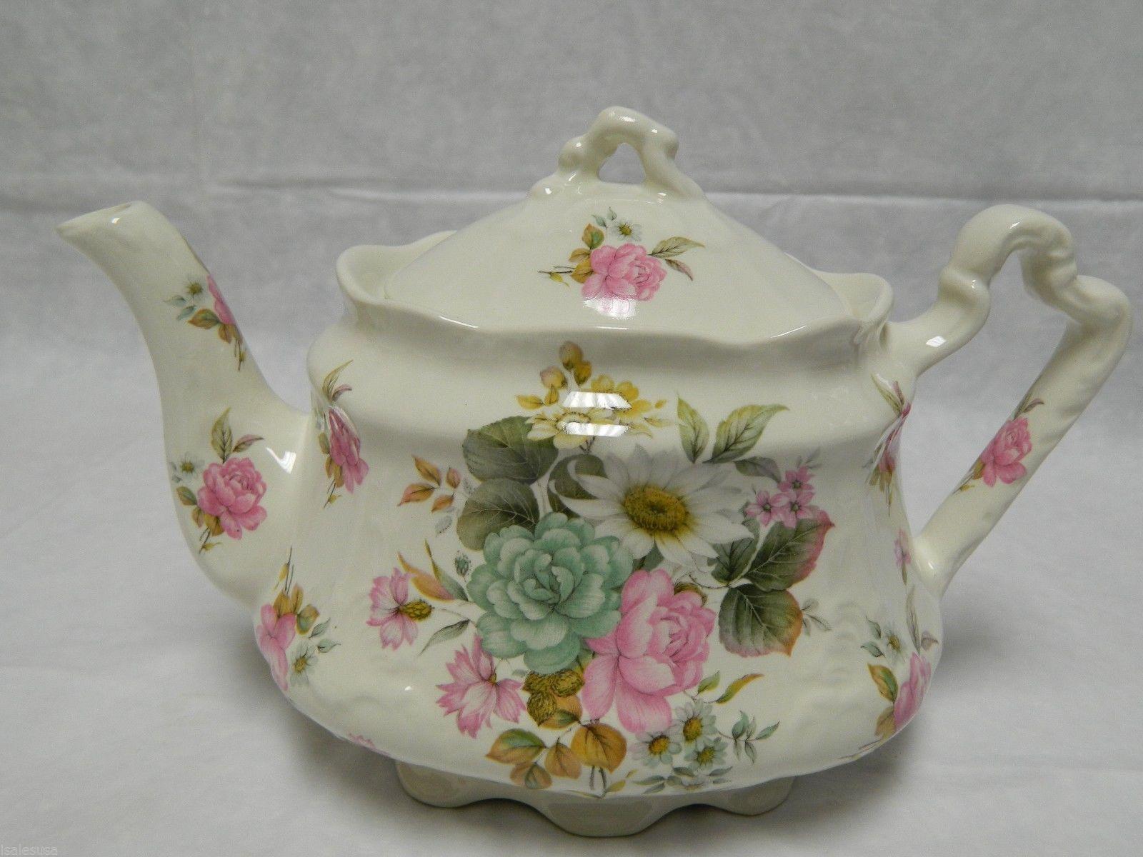 Beautiful Vintage Arthur Wood Tea Pot Made in England | eBay