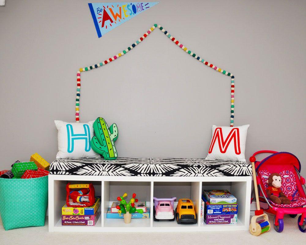 IKEA Sitzbank fürs Kinderzimmer - Spieluntergrund ...