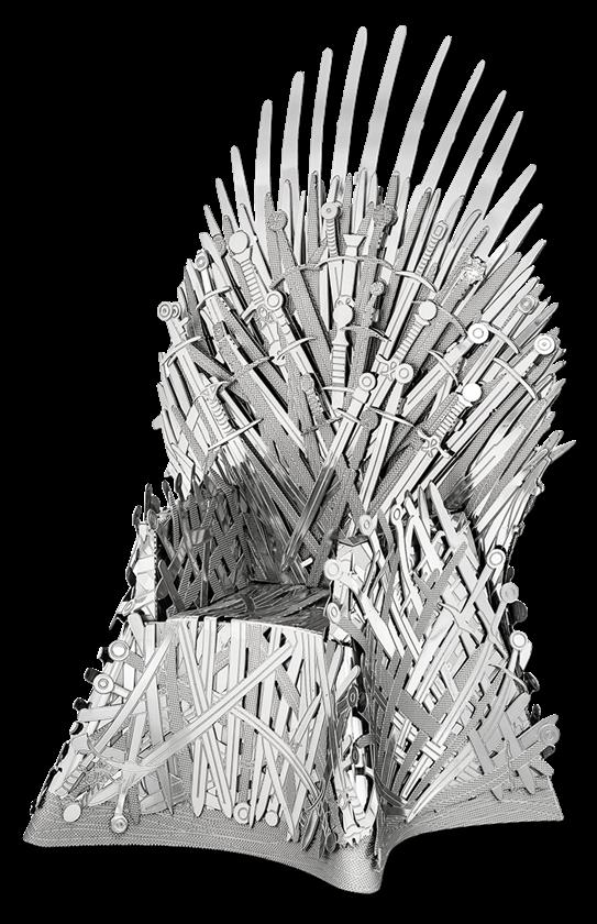 Iron Throne Metal Earth Iron Throne Metal Model Kits