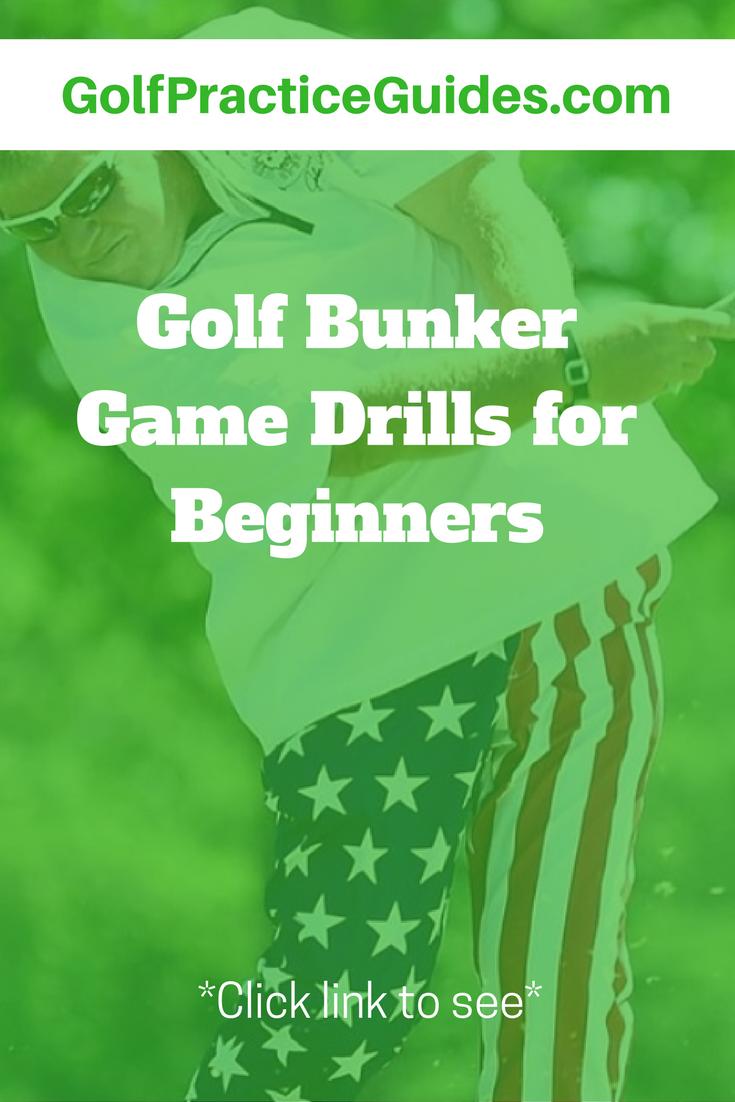 best golf bunker drills to practice golf practice golf