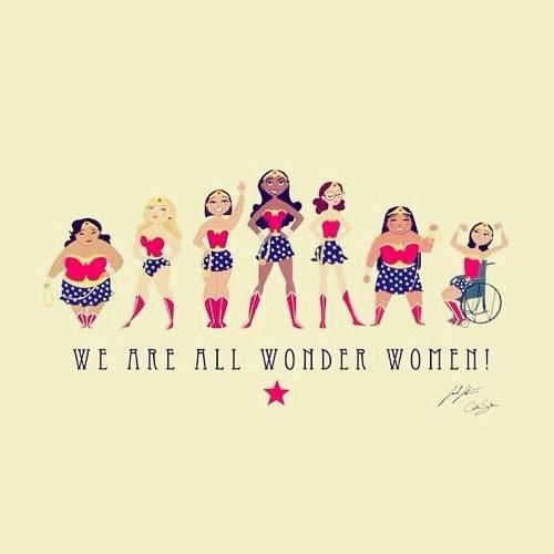 Superwomen- thanks VegieHead Adele