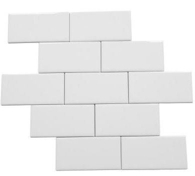 Bath 3 Shower Wall Tile Daltile Rittenhouse Arctic White