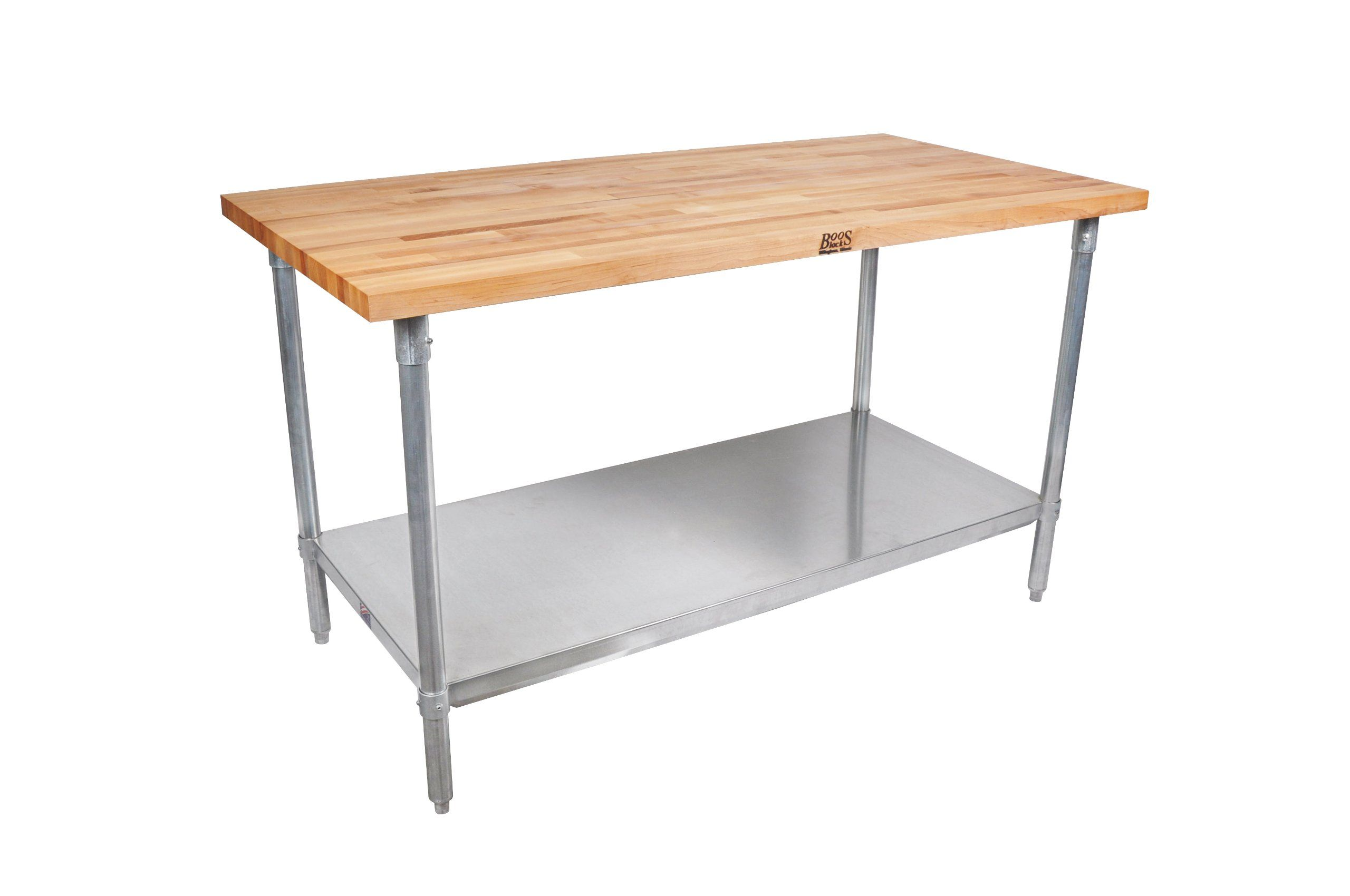 Robot Check Work Table Galvanized Shelves Kitchen Work Tables