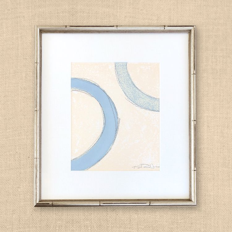 Bits Of Circles 16x18 Nursery Art Painting Watercolor Paper