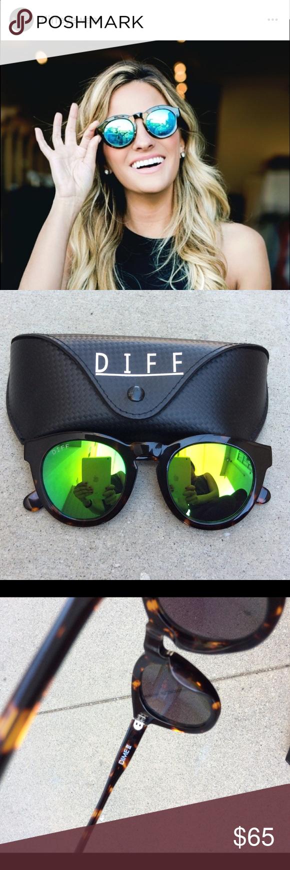68e151ae2a4f DIFF Eyewear Dime II Sunglasses NWOT DIFF Eyewear Dime II Sunglasses NWOT.  Tortoise frame with