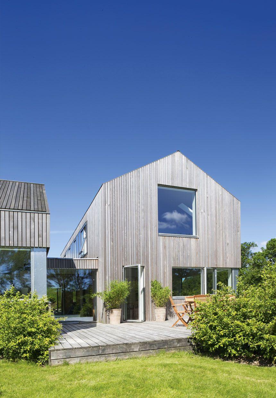 jan henrik jansen arkitekt / hus lavet af cedertræ, odder ...