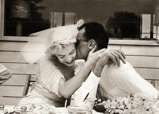 Marilyn + Arthur Miller
