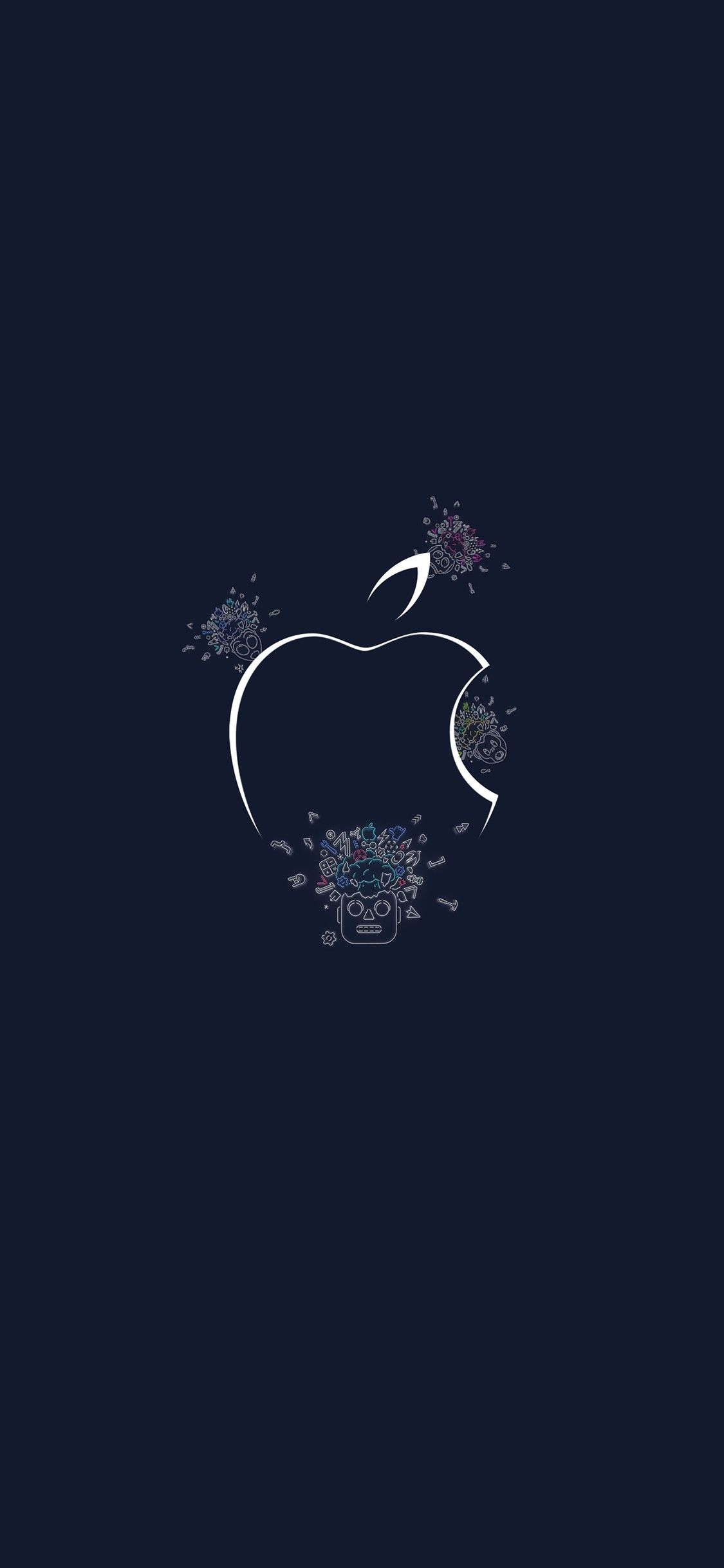 Elegant Apple Logo Wallpaper 4k For Iphone Wallpaper Iphone Wallpaper Ponsel Gambar