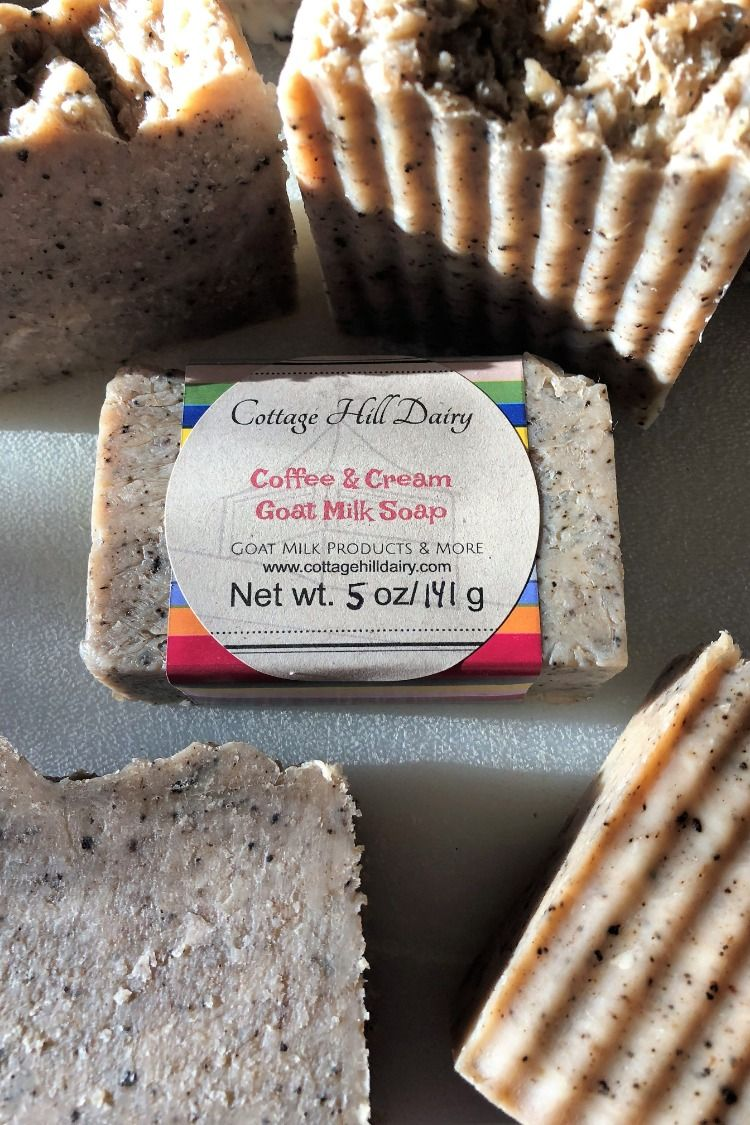 Cottage Hill Dairy Coffee & Cream Goat Milk Soap Goat
