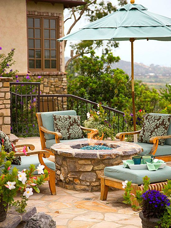 Build Your Own Fire Pit Give Your Patio A Warm Focal Point With This Easy