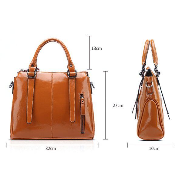 Hot-sale designer Women Oil Leather High-end Shoulder Bag Dating Handbag  Online - NewChic Mobile 747ca042fc2da