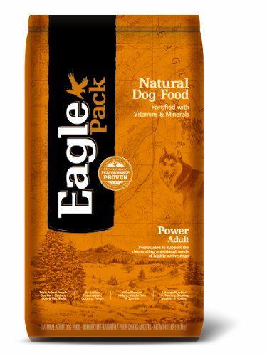 Eagle Pack Natural Pet Food, Power Adult Formula for Dogs