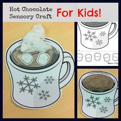 Hot Chocolate Sensory craft