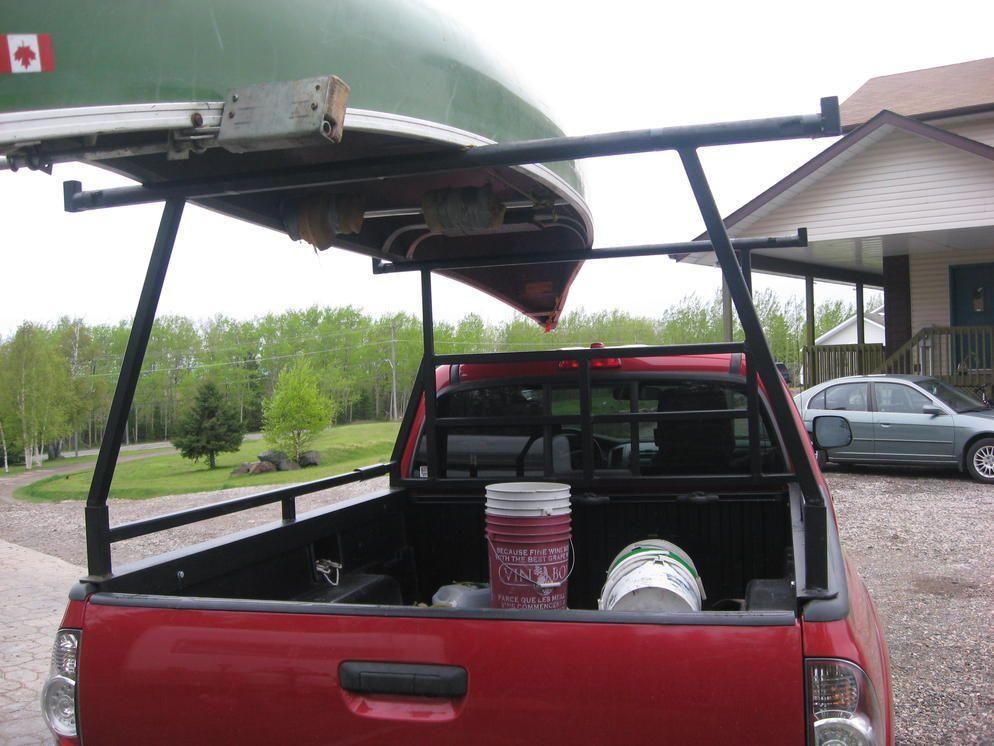Homemade Pickup Canoe Rack Truck stuff Pinterest
