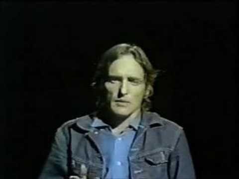 Dennis Hopper reads a poem on The Johnny Cash Show