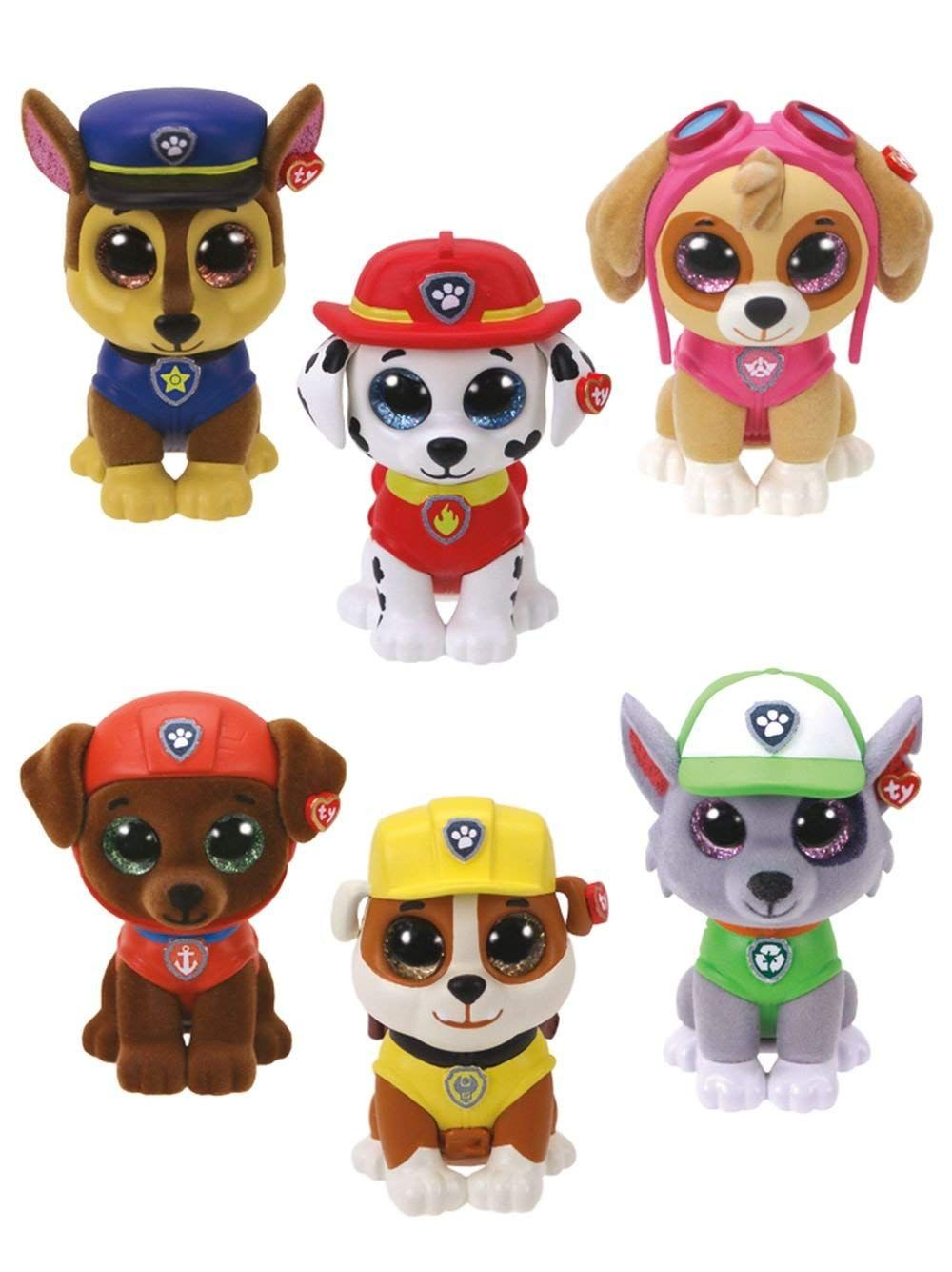 Kinder Spielzeug PAW PATROL Marshall Rubble Rocky Chase Skye Pups Figuren