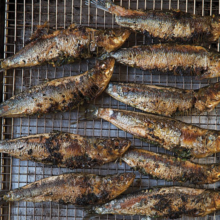 Grilled Gremolata Stuffed Sardines Recipe Sardine Recipes