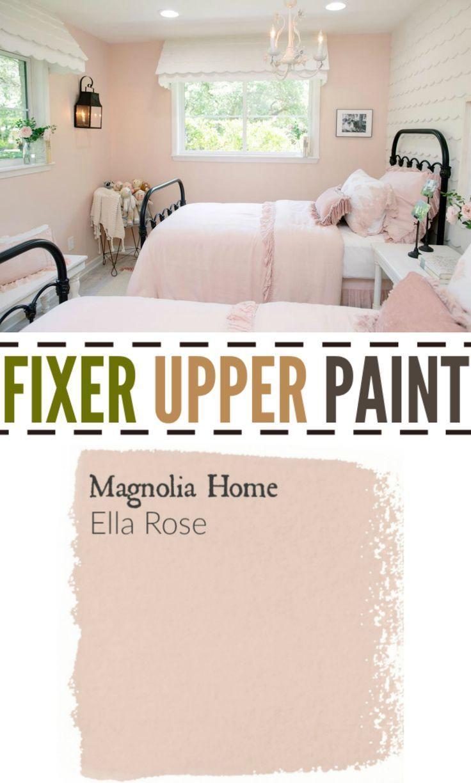 Fixer Upper Season Four Paint Nursery Paint Colors