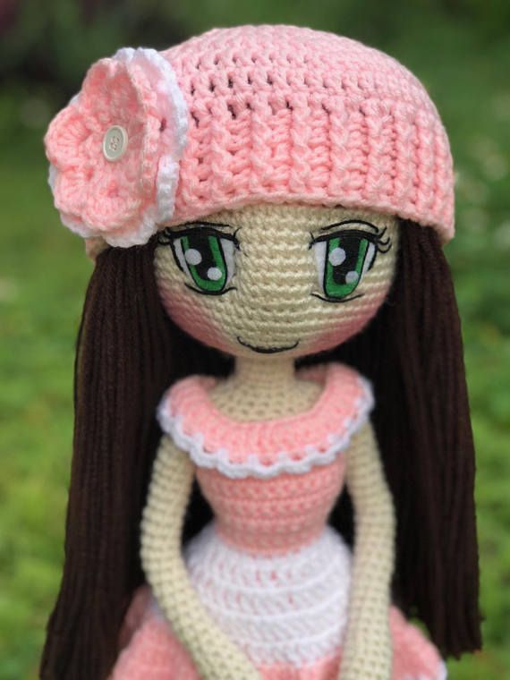 Crochet Judith Doll This listing is for a digital download PDF ...