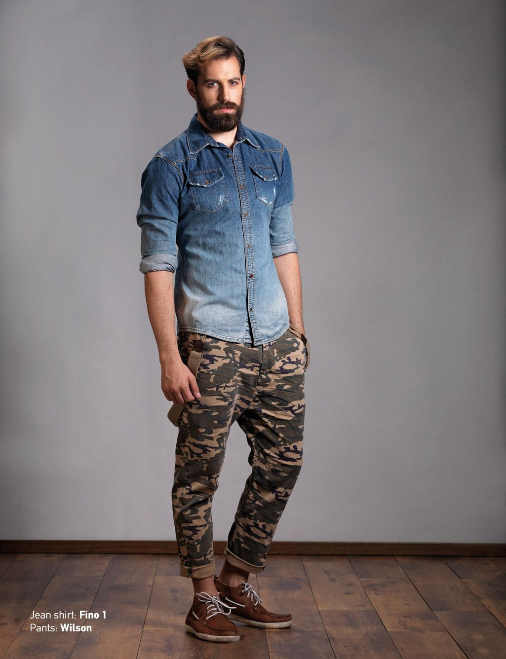 Shirt: Andy T-Shirt: Crown Jean Pants: Hardy Slim Discover Men's ...