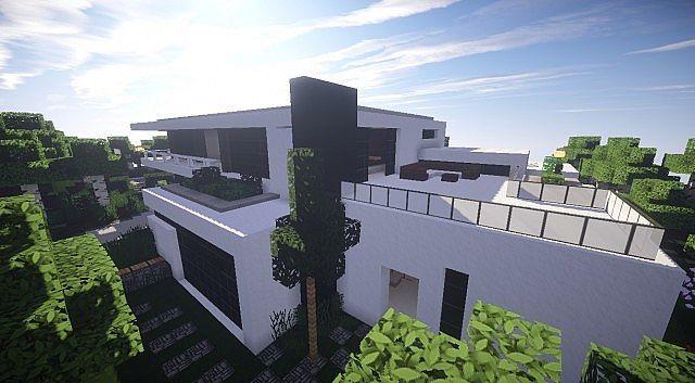 Aspire Modern Beach House 2 Minecraft Modern Building Ideas 3 Nice