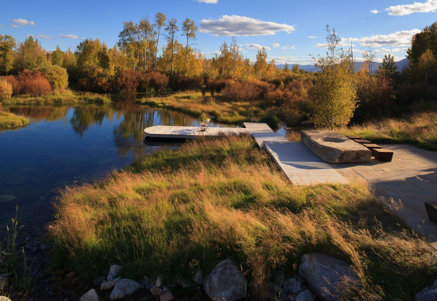 Literal ideal wetlands landing area pond swamp meadowy for Area landscape architects