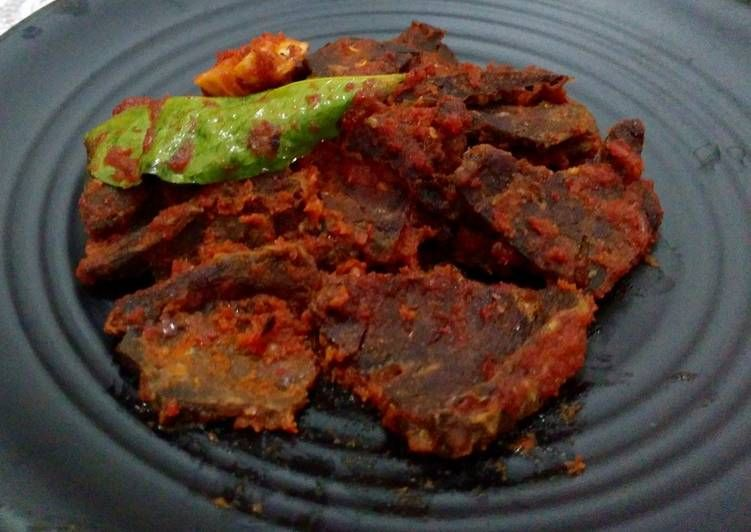Resep Sambalado Paru Sapi Oleh Fanty Wardhany Resep Resep Masakan Indonesia Resep Makanan Resep