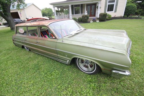 Purchase Used 1964 Chevy Belair Impala Station Wagon Surf Lowrider