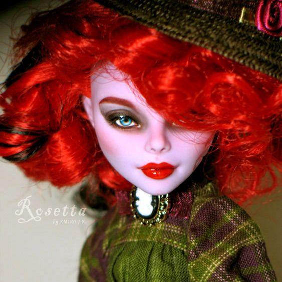 1/6 OOAK Mattel Monster High Operetta Doll Custom Repaint Full/Complete Set   eBay