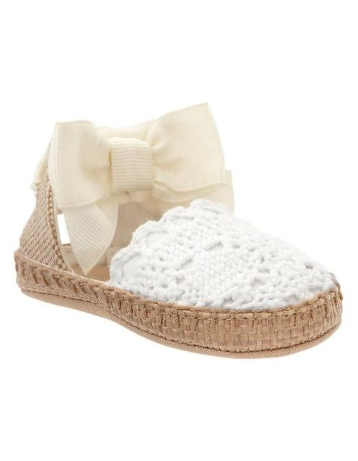 Baby gap bow espadrilles for my sweet