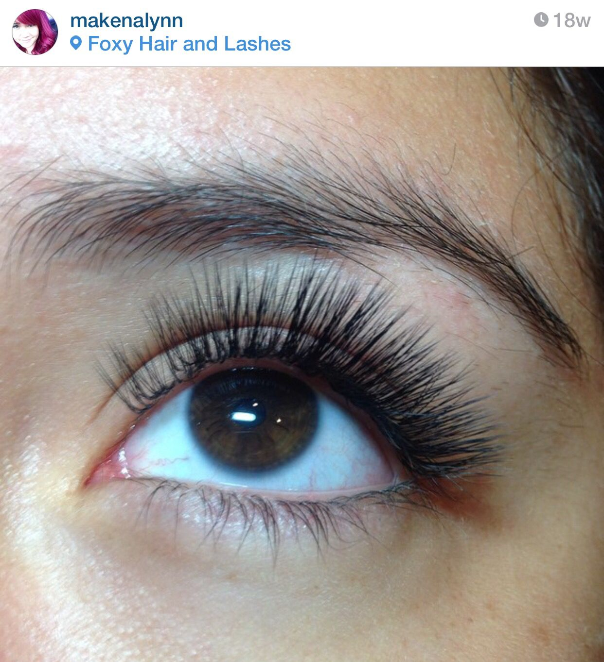 e1bda024ffe Lash extensions done by @Makenalynn (via Instagram), using Sugar Lash Pro  products. L-curl lashes from in .07 9-13mm.