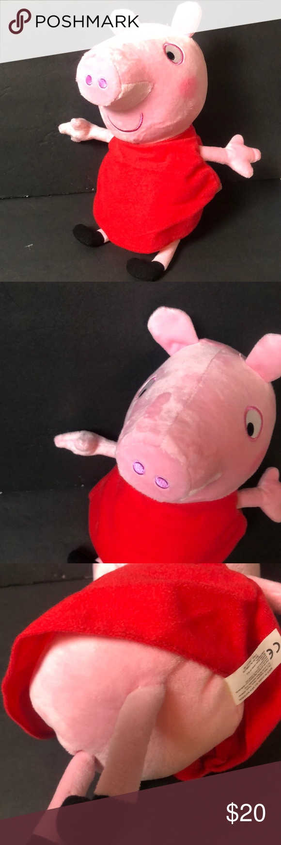 Build A Bear Peppa Pig Large Stuffed Plush Toy Animal New With Tags In Stock Now At Https Www Bonanza Com Custom Stuffed Animal Teddy Bear Shop Build A Bear [ 2878 x 2160 Pixel ]