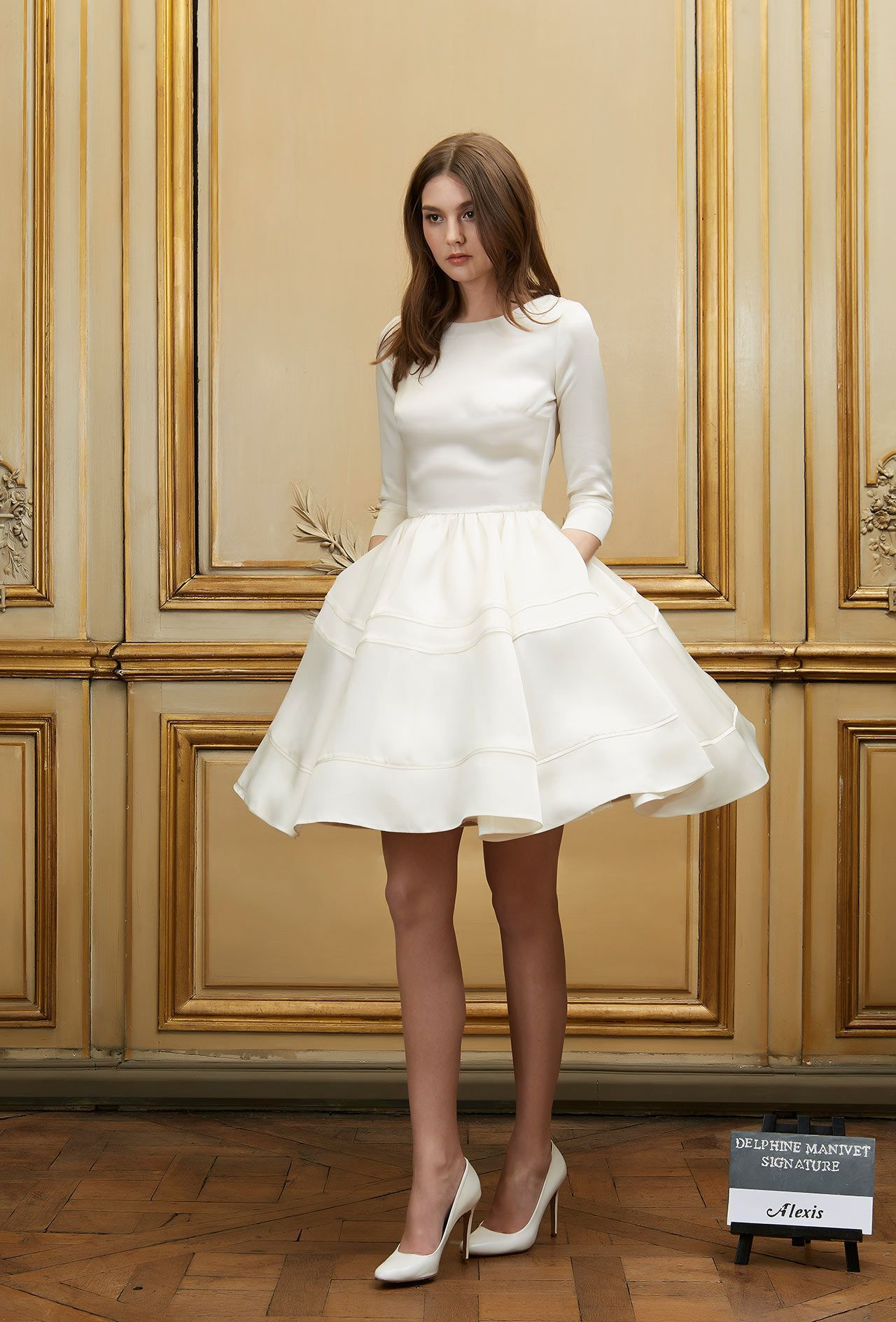 Courthouse wedding dress plus size  Pin by ruthie dibble on Wedding Dresses  Pinterest  Wedding dress
