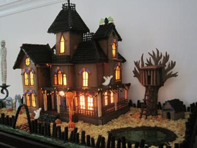 We used the template from the Haunted Dimensions website for our ...