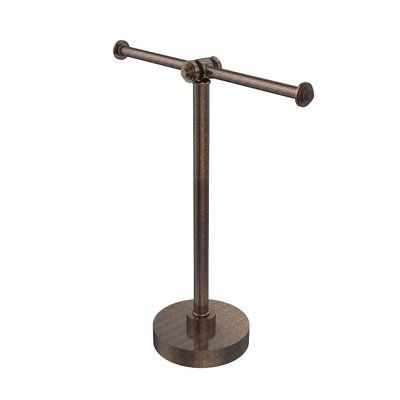 Allied Brass Southbeach Table 2 Arm Guest Countertop Towel Stand