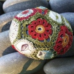 Patchwork Style Crochet Stone Resurrectionfern.typepad.com