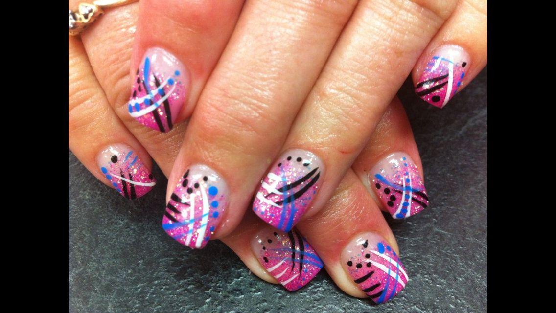 Pin By Hercules Tullius On Nail Art I Love Dot Nail Art Dots Nails Nail Designs